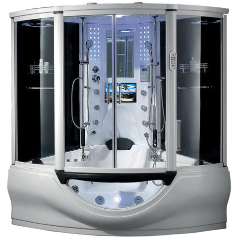 Maya Bath The Superior Platinum Luxury Steam Shower White 101