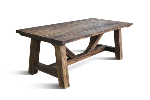 Image of Maxima House Snurr Solid Wood Dining Table SCANDI067