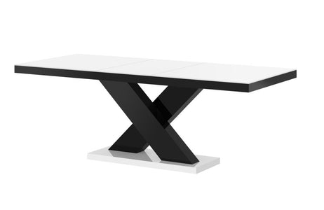 Maxima House Xenon Lacquer Dining Table with Extension HU0038
