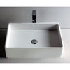 Ideavit Solidtop-60 Rectangular Vessel Bathroom Sink PS IDV 277030