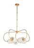 Chelsea House Ring Chandelier - Gold 69589
