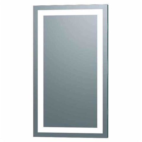 "Afina  Illume 66"" Rectangular Frameless Wall Mount LED Backlit Bathroom Mirror IL-2266-R"