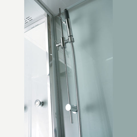 "Image of Athena 2-Person Corner Steam Shower 53"" x 53"" x 90"" WS-131"
