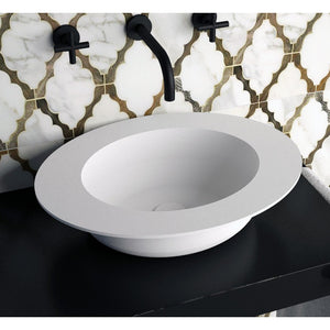 Ideavit Solidcap Oval Vessel  Bathroom Sink 4' Wide  PS IDV 290225
