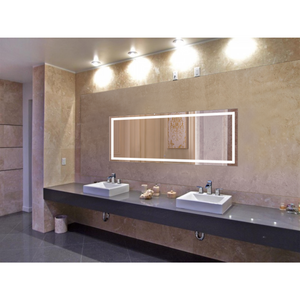 Krugg Icon 72″ X 30″ LED Bathroom Mirror w/ Dimmer & Defogger | Large Lighted Vanity Mirror Icon7230