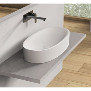 "Ideavit Solidcliff-70 28"" Wide Vessel Bathroom Sink PS IDV 290231"