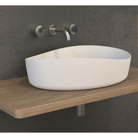 Ideavit Solidharmony Oval Vessel Bathroom Sink PS IDV 290116