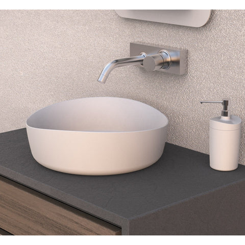 Image of Ideavit Solidharmony Round Vessel Bathroom Sink PS IDV 290115
