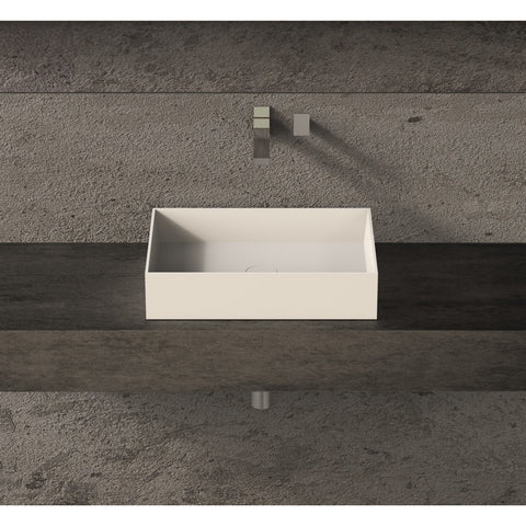 Image of Ideavit Solidjoy-50 Rectangular Vessel Bathroom Sink PS IDV 285074