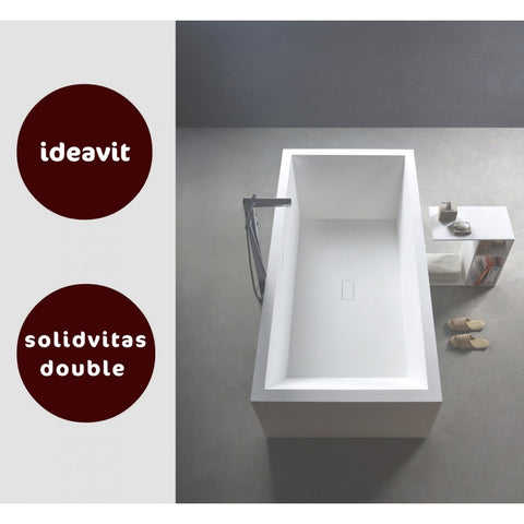 Image of Ideavit Solidvitas Double Free Standing Bathtub PS IDV 284453