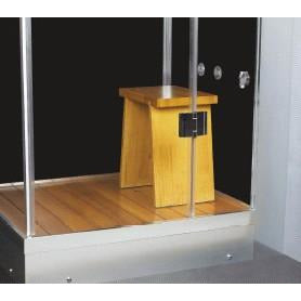 Image of Homeward Bath Galaxy Steam Shower 60L x 33W x 88H WS112-32