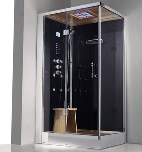 "Athena 2-Person Corner Steam Shower 47"" x 36"" x 89"" WS109 (L/R)"