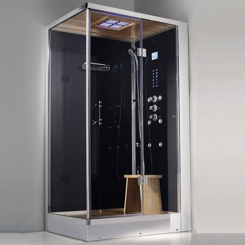 "Athena 1-Person Corner Steam Shower 39"" x 32"" x 89"" WS108 (L/R)"
