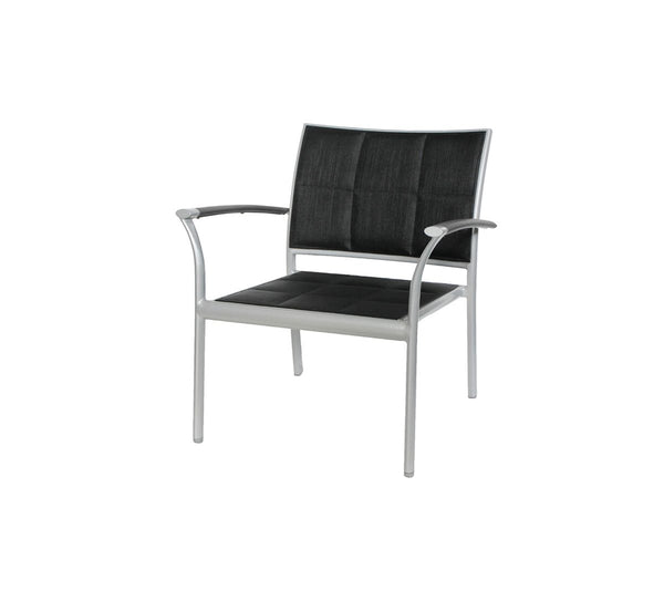 New Roma (Padded Sling) Club Chair w/ Aluminum Arm