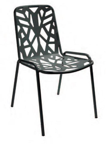 Chairs | Outdoor Fancy Leaf Outdoor Stacking Dining Chair