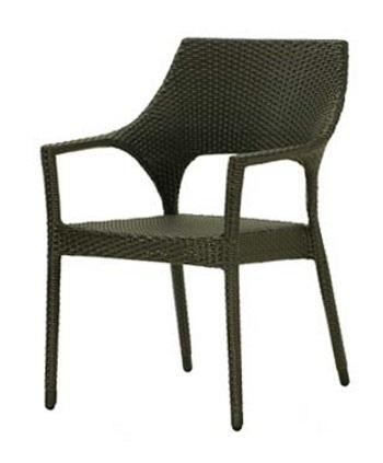 Chairs | Outdoor New Miami Lakes Outdoor Stacking Armchair