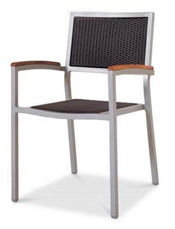 Chairs | Outdoor New Munich Outdoor Stacking Armchair w/Durawood Armrest