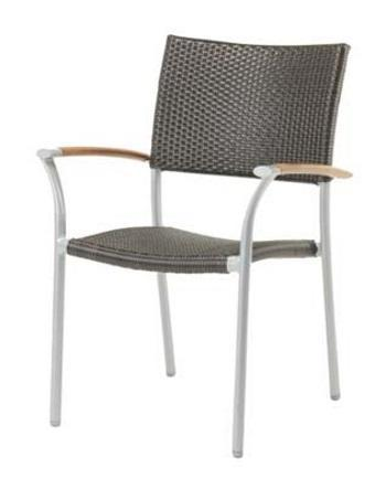 Chairs | Outdoor New Roma Outdoor Sling Stacking Armchair