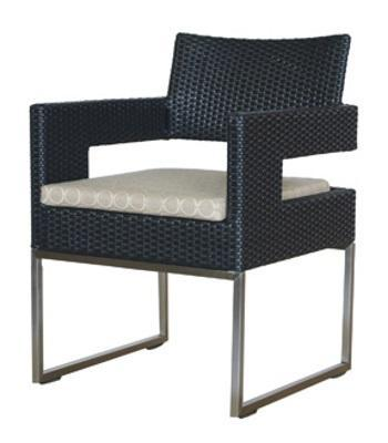 Chairs | Outdoor Vilano Outdoor Dining Arm Chair w/Cushion