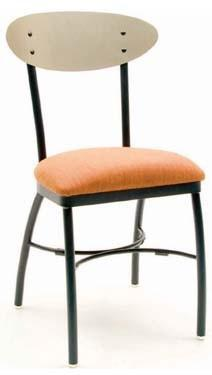 Chairs | Wood Lamont Metal Chair