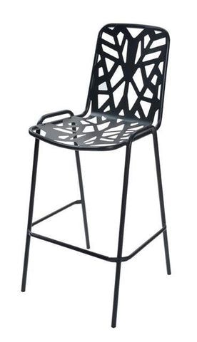 Outdoor | Bar Stools Fancy Leaf Outdoor Bar Stool