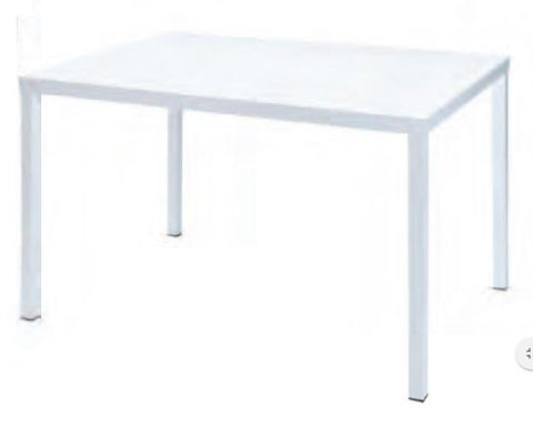 Outdoor | Table and Base Dorio 120 Outdoor Stackable Table (Dining Height 40 x 32)