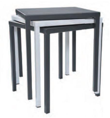 Outdoor | Table and Base Dorio 80 Outdoor Stackable Table (Dining Height 24 x 32)
