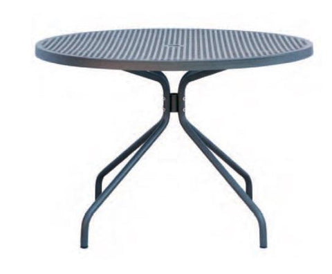 Outdoor | Table and Base Estate 110 Outdoor Table and Base (Dining Height, 43 Round)