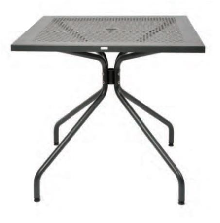 Outdoor | Table and Base Estate 90 Outdoor Table and Base (Dining Height, 36x36)