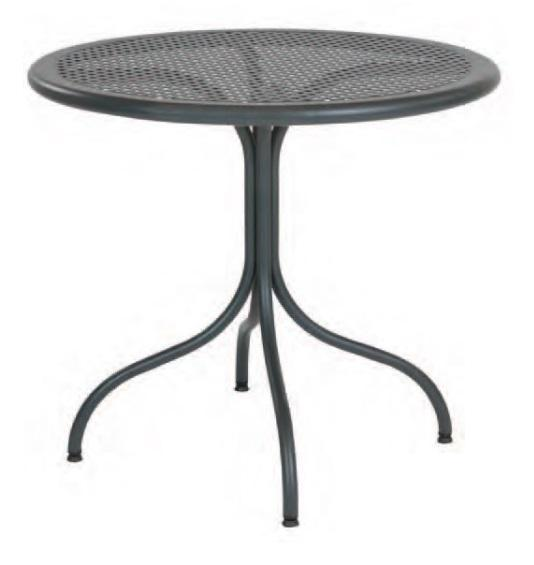 Outdoor | Table Tops Bistrot 80T  (32 Round - Disassembled)