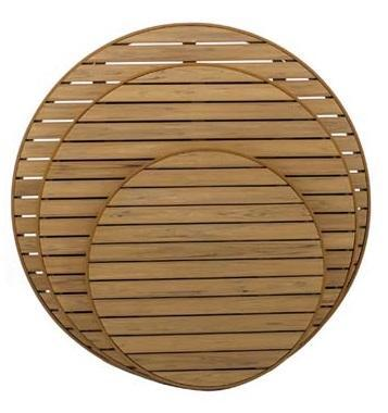 "Outdoor | Table Tops Durawood Outdoor Table Top (24"" Round)"