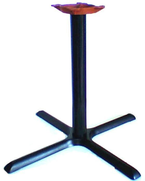 Table Bases | Standard Black Criss Cross Base, Extra Large