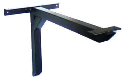 Table Bases | Standard Cantilevered Table Base with Angle Bracket, Small