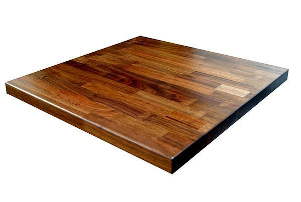 Table Tops | Wood Custom Solid Wood Square Table Top*