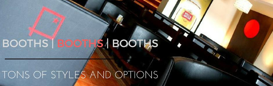 Booths & Booths & Booths