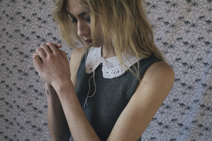 PETER PAN COLLAR - WHITE