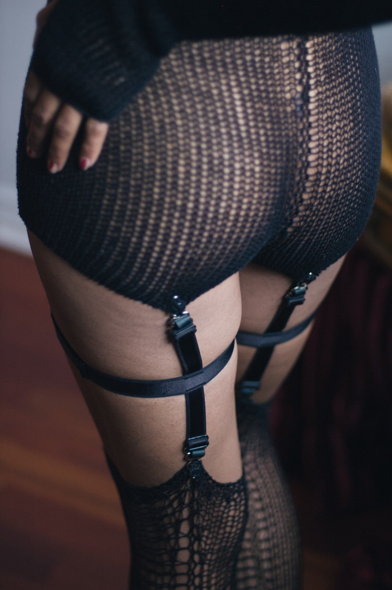 DOUBLE-END GARTERS