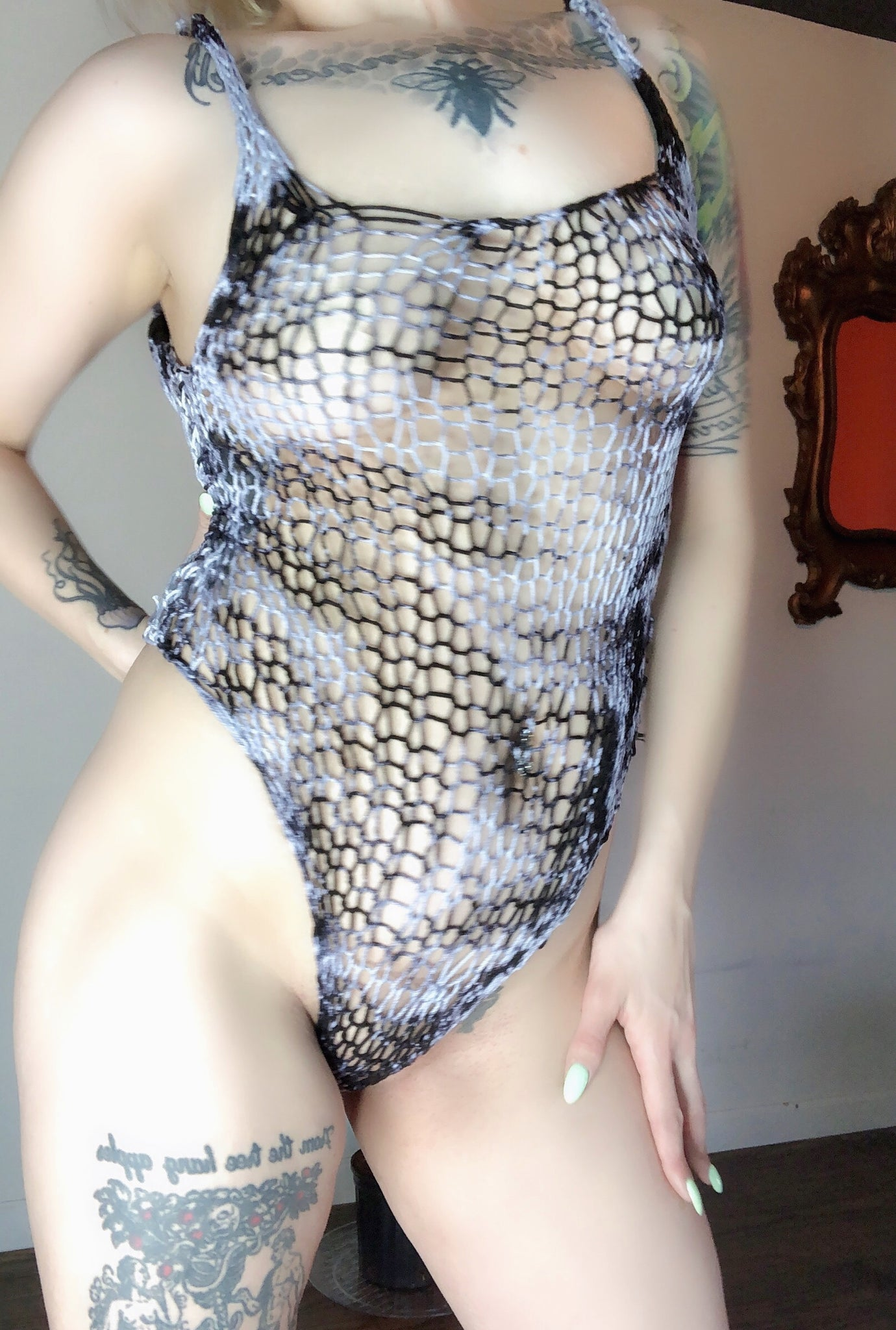 ALICE BODYSUIT (MARBLED)