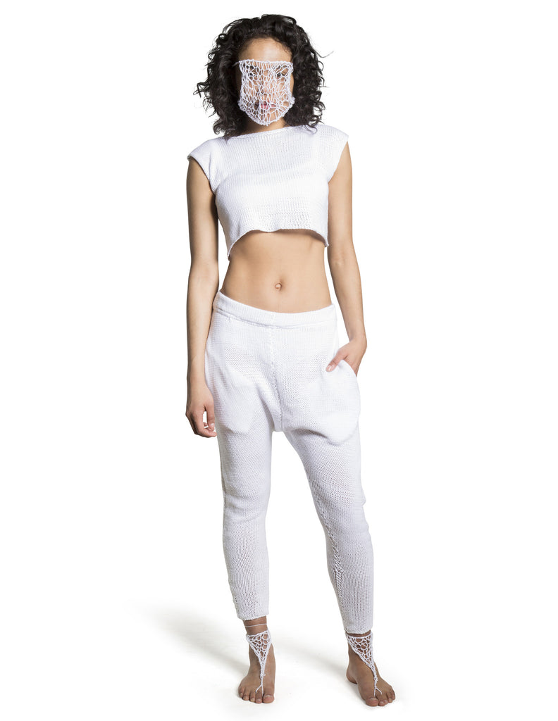 SAMPLE SAROUEL PANTS WHITE