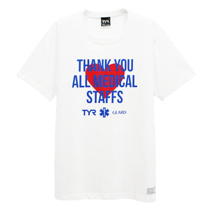 THANK YOU ALL MEDICAL STAFFS T-SHIRTS