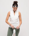 Get Soaked Sleeveless Rashguard with Built-in Bra