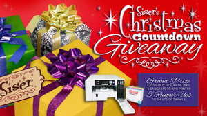 Our 🎉BIGGEST GIVEAWAY🎉 yet in Siser's Christmas Countdown STARTS NOW!