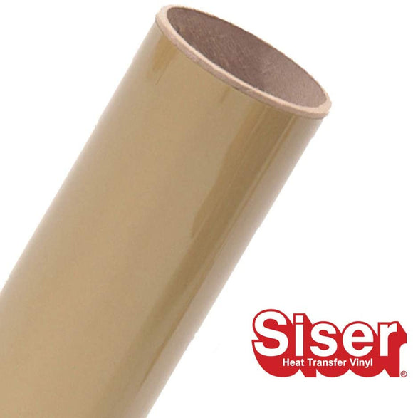 Siser EasyWeed HTV Roll - Iron On Heat Transfer Vinyl (Gold)