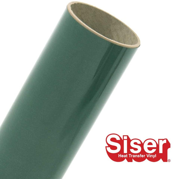 Siser EasyWeed HTV Roll - Iron On Heat Transfer Vinyl (Dark Green)
