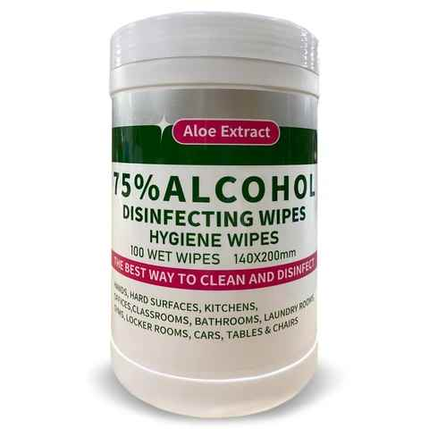 Alcohol Disposable Wipes