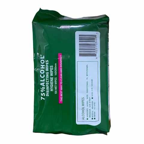 Alcohol Disposable Wipes REFILL Packs