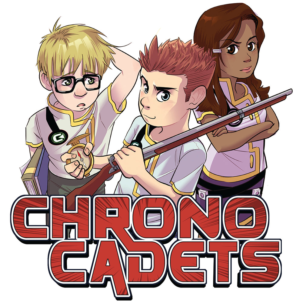 Chrono Cadets Die Cut Sticker