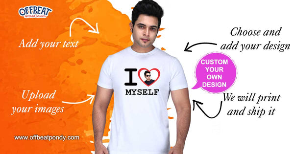 Design Your own T-Shirt by Offbeat