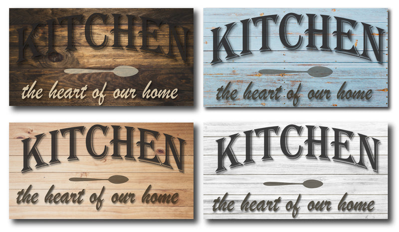 Kitchen Is The Heart Of Home Wall Sign Anna Olivia
