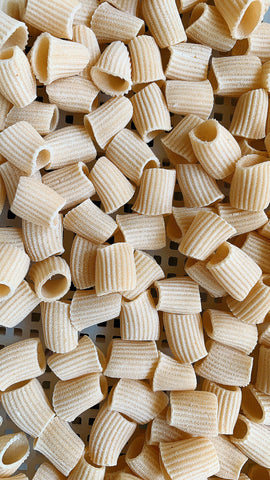 Mezzi Rigatoni- Emmer Wheat (Bronze die extruded)